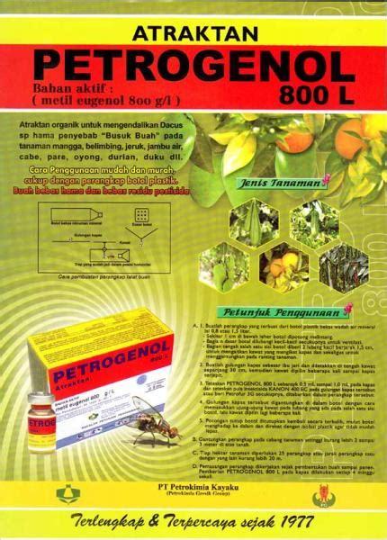 Petrogenol 800 L welcome to pt bersama kita serasi