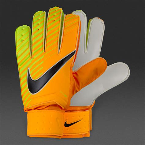 sarung tangan kiper nike original gk match laser orange volt black