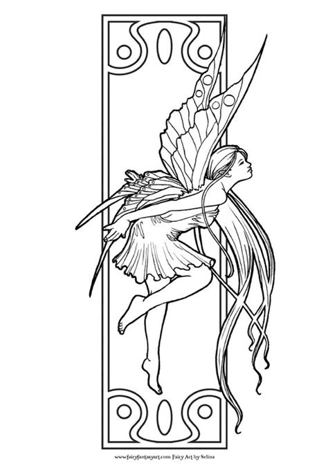 coloring pages for adults unique fantasy coloring fairy art and galleries on pinterest