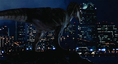 tyrannosaur izle jurassic park dinosaur gif find share on giphy