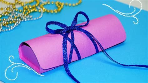 Paper Craft Gifts To Make - diy paper crafts easy gift box ideas chocolate