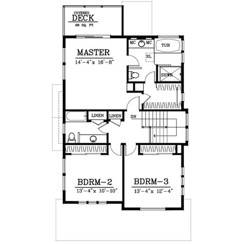 floor plan for affordable 1 100 sf house with 3 bedrooms craftsman style house plan 3 beds 2 5 baths 2044 sq ft