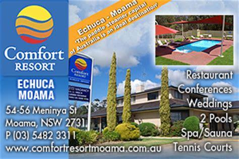 Comfort Resort Moama by Bushview Room Comfort Resort Echuca Moama