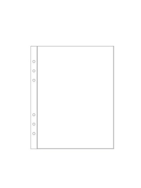 6x8 page protectors 6x8 quot page protector 1a 6 ring shops