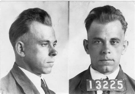 boss haircuts hamilton john dillinger arrest photo