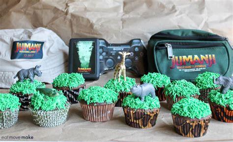 jumanji movie theme jumanji cupcakes for a jumanji welcome to the jungle party