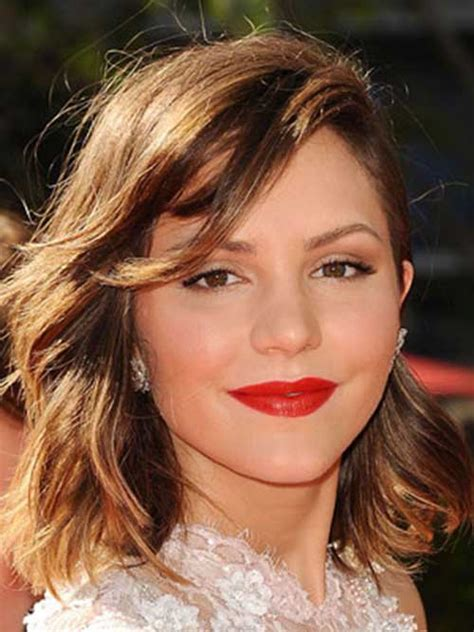 best hairstyles for heart shaped faces pictures long short