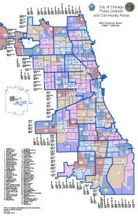 Chicago Police Zone Map by Community Map Chicago Police Department