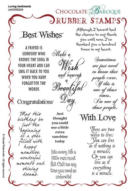 rubber st sayings 10 best cards sentiment words 28 images 25 best