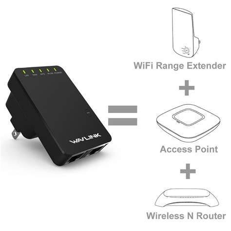 resetting wifi booster wavlink wl wn523n2 300mbps wireless wifi router repeater