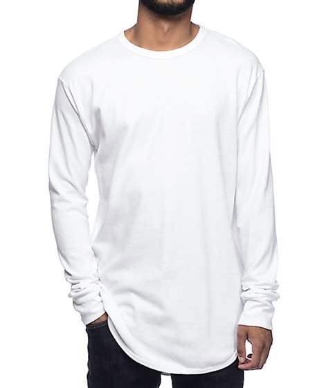 Longsleeve White Brush eptm og thermal white sleeve t shirt