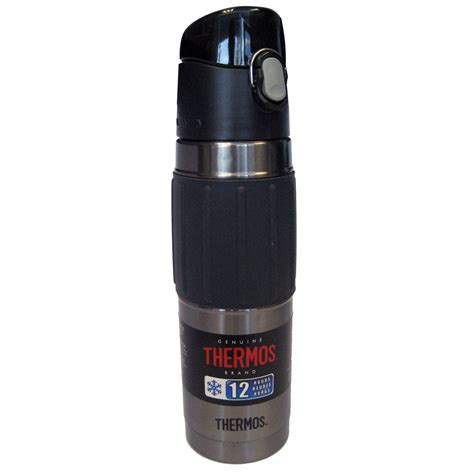 Botol Thermos Insulasi Stainless Steel Thermos Thermos Vacuum Insulated Hydration Bottle 18 Oz Stainless Steel Charcoal 11 42351