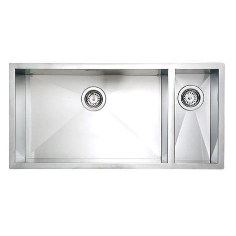 Large Bowl Kitchen Sink Sqi05 Qube Lh Zero Undermount 1 5 Large Bowl Kitchen Sink Homestyle Products Ltd