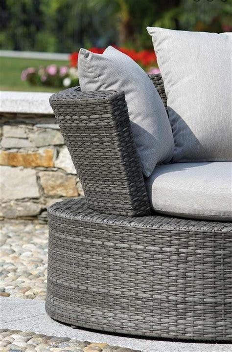 divanetti in rattan sintetico set divanetto giardino senigallia 2 divani onda tavolino