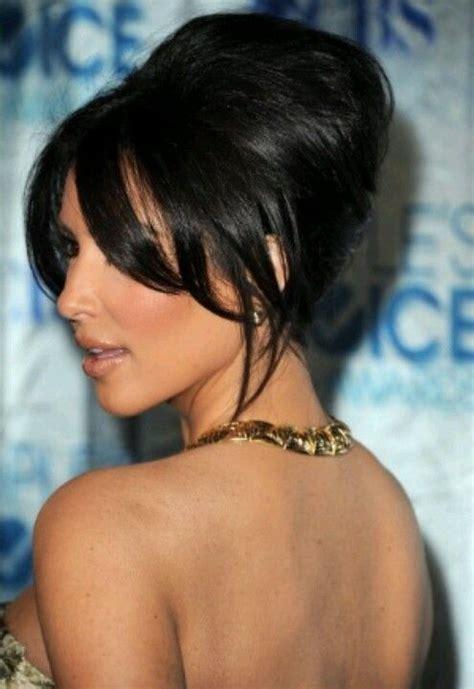 how to do hairstyles like kim kardashian kim kardashian red carpet updo hairstyle bridal