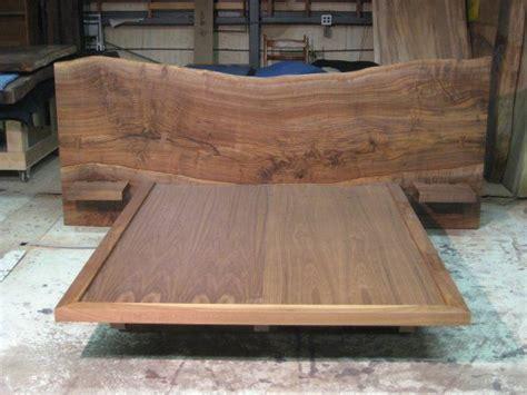 live edge headboard ian ingersoll claro walnut live edge bed beds master