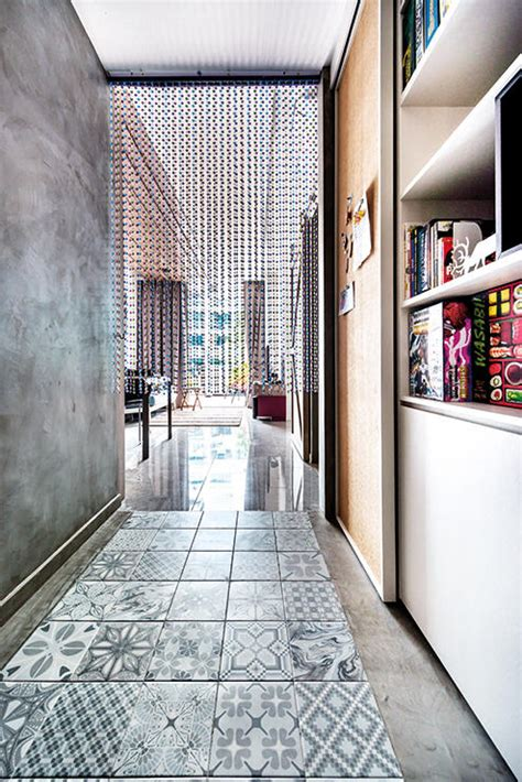 foundation dezin decor residential colored floor 7 savvy ways to use patterned tiles for visual impact