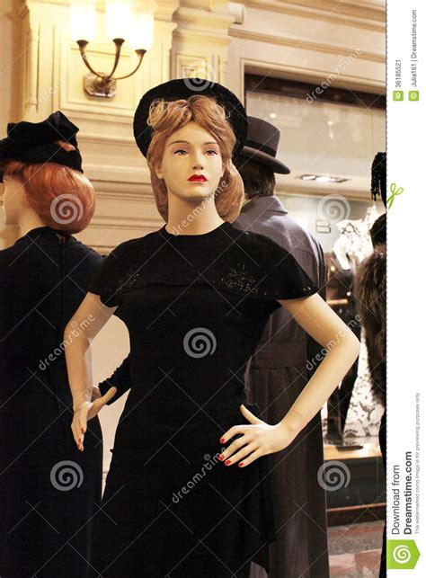 70th century hairstyle 50th fashion style mannequin editorial photo image 36185521