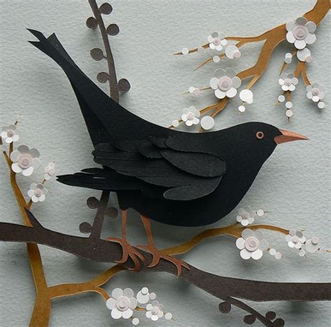 Paper Cutting Craft Work - 25 unique paper birds ideas on diy 3d
