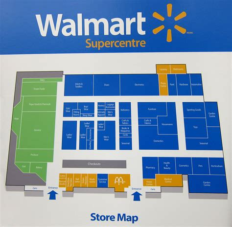 walmart store floor plan enterprise software storage and mobile services marketing and management insight sharing on