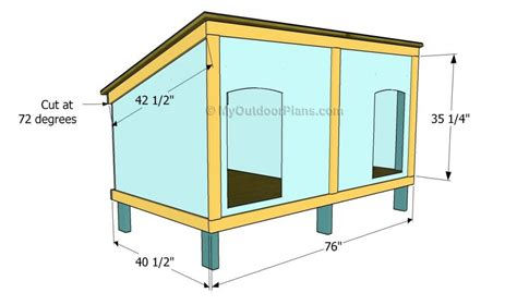 how to build a dog house free plans cute double dog house plans free new home plans design