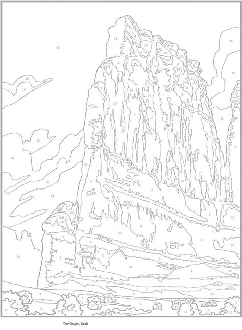 western landscape coloring page 136 best images about western on pinterest coloring