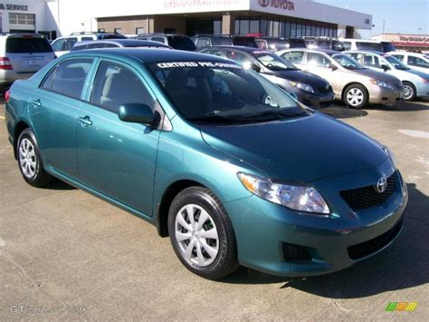 2009 sea green metallic toyota corolla le 27169293 gtcarlot car color galleries