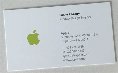 Business Card Templates For Mac apple business card apple for volvoab