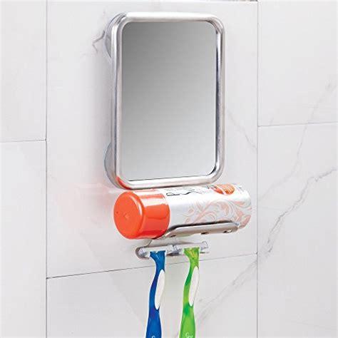 shaving cream on bathroom mirror interdesign forma suction bathroom or shower shaving