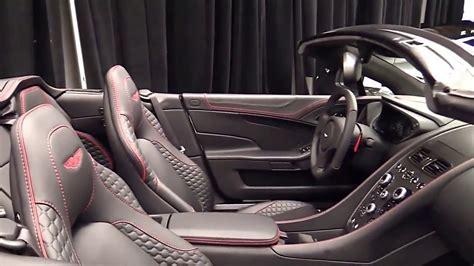 aston martin vanquish interior 2017 2017 aston martin vanquish volante special edition