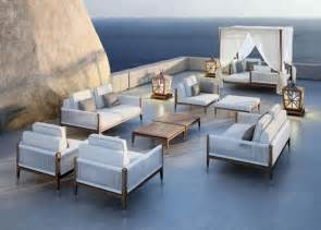 teak wood patio furniture at the galleria