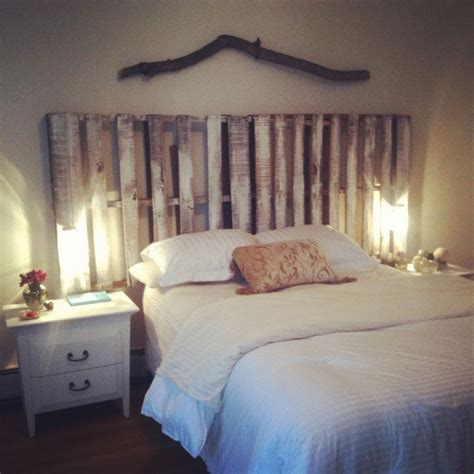 pallet headboard designs 25 best ideas about pallet headboards on rustic apartment decor headboard with