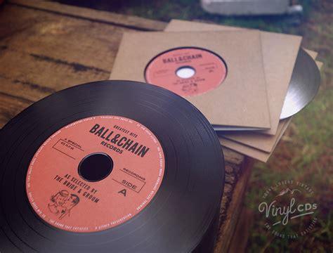 vinyl cd wedding invitations vintage vinyl cd wedding favor invite unique