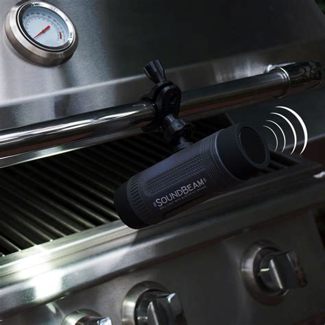 outdoor lights with bluetooth speakers soundbeam outdoor bbq light with bluetooth speaker
