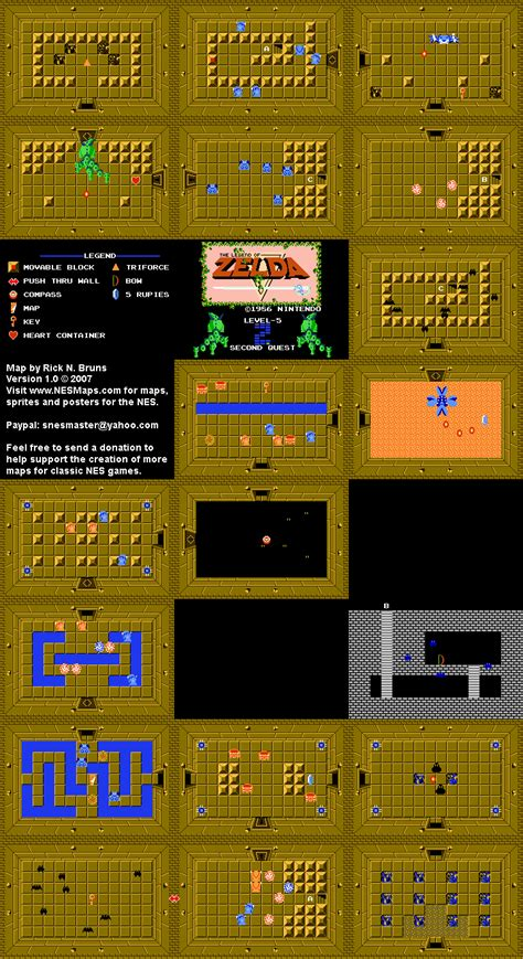 legend of zelda map quest 2 overworld zelda dungeons