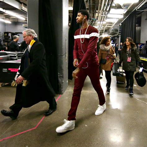 fashion for paul george part in hair fashion and celebrities at nba all star weekend