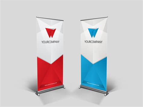 templates for roll up banners business rollup banner nex presentation templates