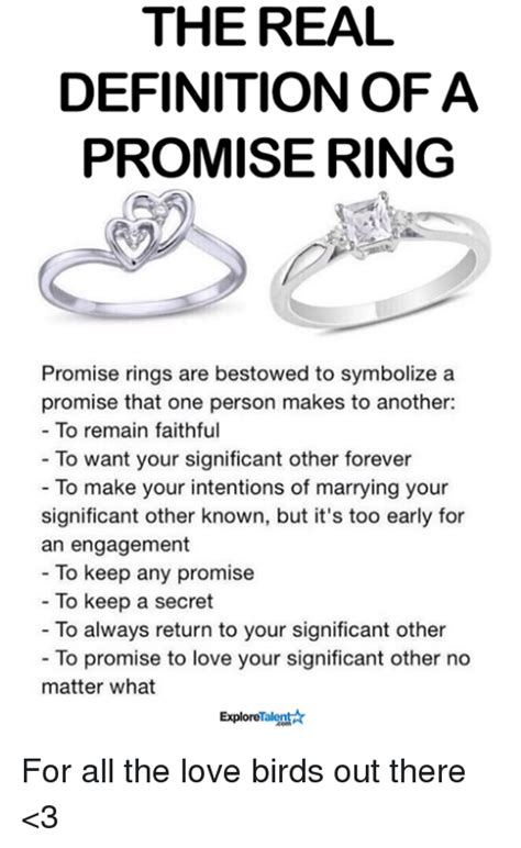 what is a promise ring the real meaning the knot 25 best memes about bestow bestow memes