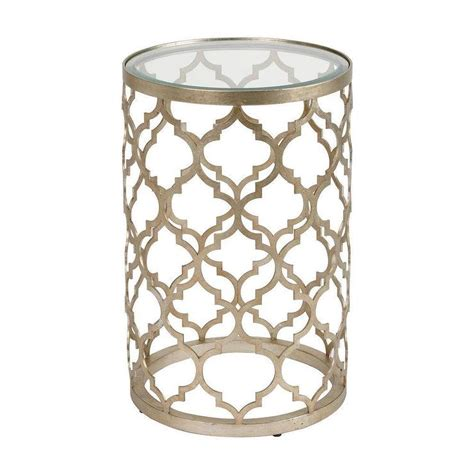 Quatrefoil Side Table Tracery Accent Table I Ethan Allen