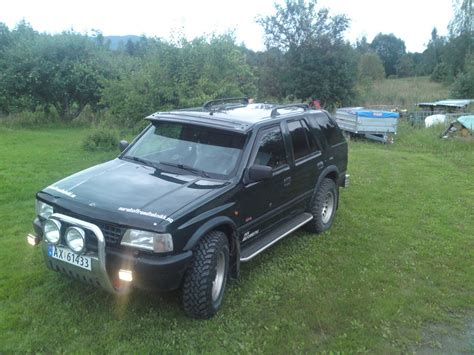 opel frontera 1995 schtake 1995 vauxhall frontera specs photos modification