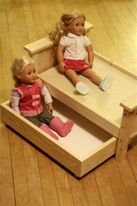 ana white build a doll farmhouse bed free and easy diy 17 best images about ana white american girl doll horse