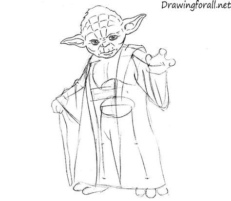 Yoda Drawing Outline by How To Draw Chibi Yoda Screenshot 3 Yoda Coloring Pages 32 For Coloring Pages For