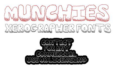 Xerographer Dafont | munchies font dafont com