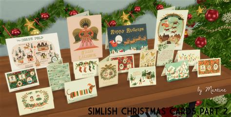 Sims 4 Gift Card - christmas cards by martine teh sims