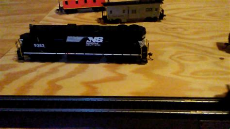better video of my ho scale virginian youtube