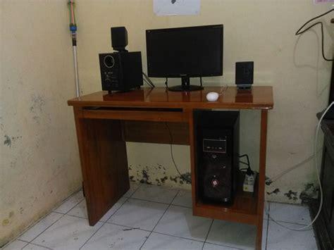 Meja Komputer Kayu meja komputer jati meja komputer kayu