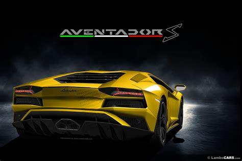 lamborghini aventador advertisement is this how the lamborghini aventador s will look