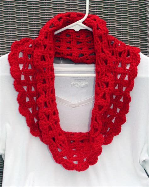 ta bay crochet free crochet pattern lacy crimson cowl