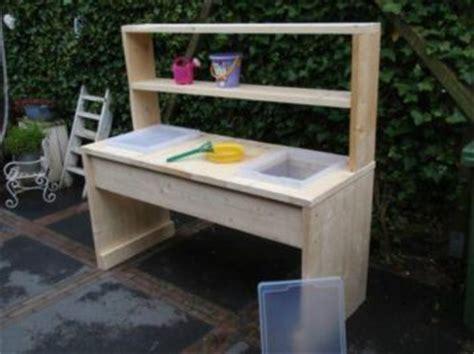outdoor speelgoed keuken zandtafel en watertafel van steigerhout voor kinderen