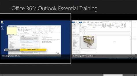 windows 10 tutorial official office 365 outlook essential training for windows 10 pc